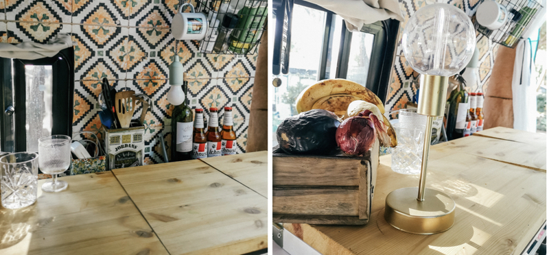 Goboony Campervan Van Motorhome Kitchen H2 Cooking Budget