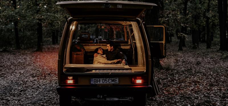 Goboony Campervan Couple Night H2 Cosy Cuddle Van
