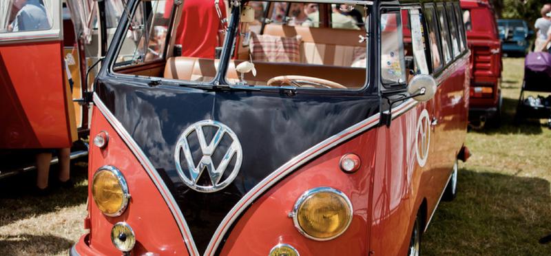 Goboony Festival Campervan VW H2 Volkswagen Event Celebrate