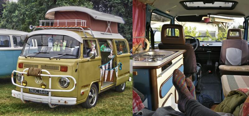 Goboony campervan vw festival h2 hire