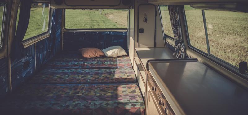 Goboony interior campervan van h2 comfort