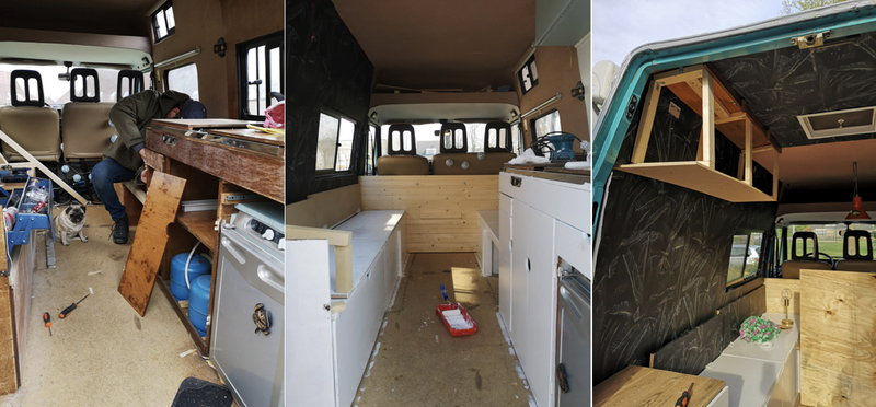 Goboony upgrade renovate diy build h2 motorhome campervan