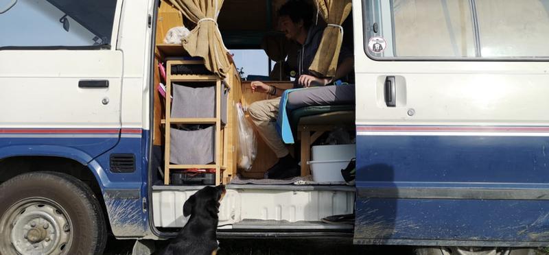 Goboony Campervan dog friendly motorhome hire h2
