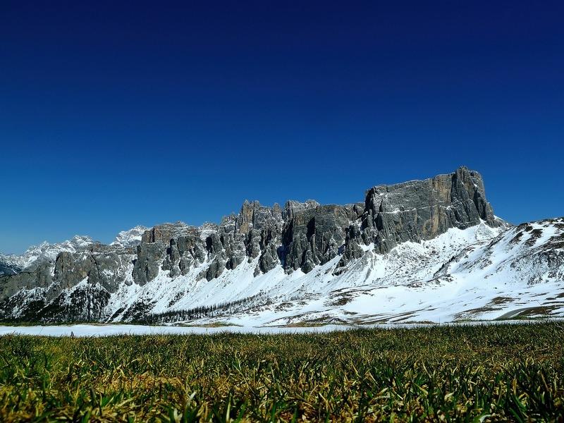 Op vakantie met de camper naar Italië Dolomieten