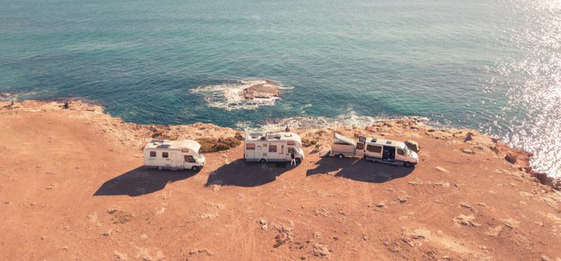 Goboony motorhome campervan h2 beach