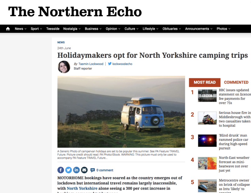 Northern Echo Article