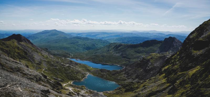 Goboony Snowdon Snowdonia Wales H2 Mountain