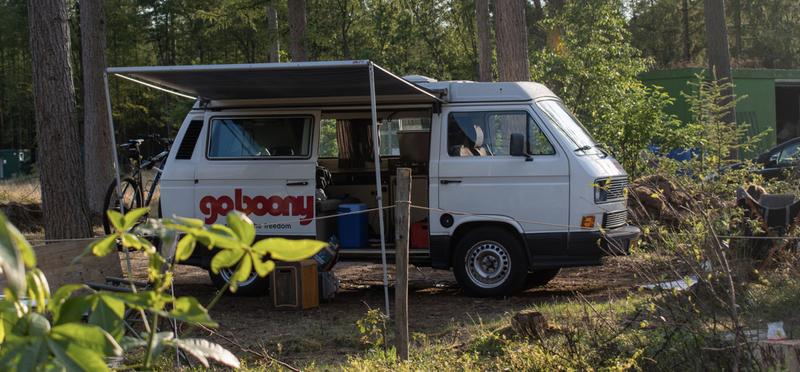 Goboony campervan camper H2 VW nature
