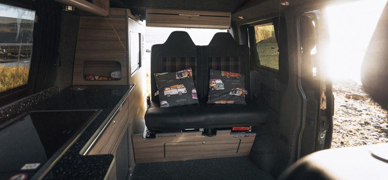 Goboony campervan camper h2 motorhome interior