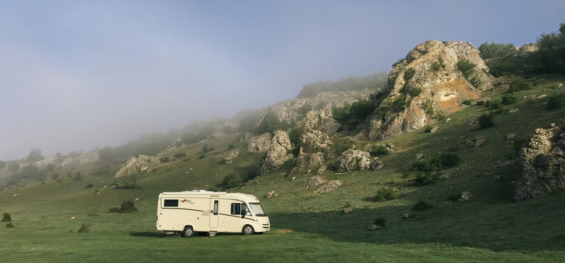 Goboony motorhome campervan mountain h2 nature