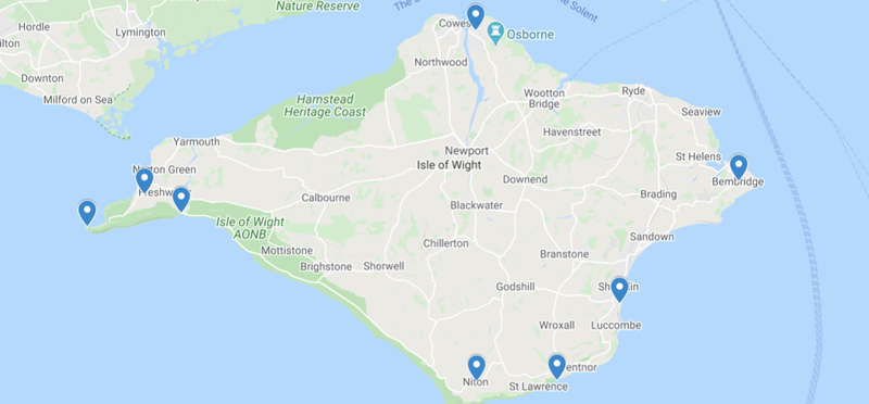 Goboony Isle of wight road trip h2 route itinerary