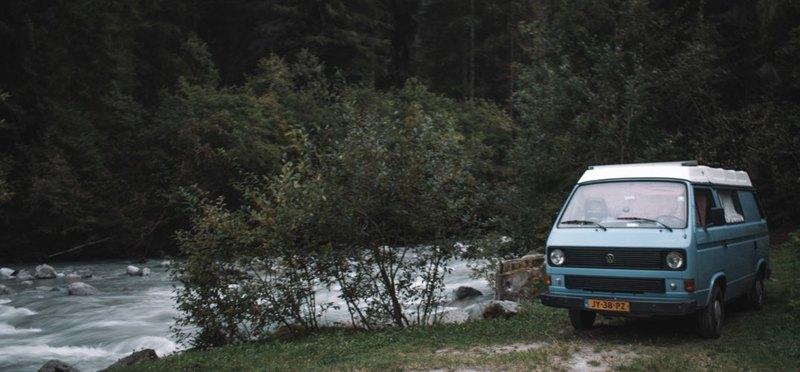 Goboony wildkamperen europa camper Italië