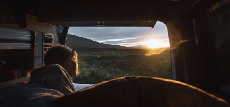 Goboony wildkamperen Europa camper Schotland