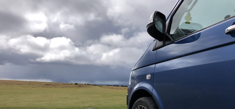 Goboony campervan motorhome VW van H2 winter rain autumn