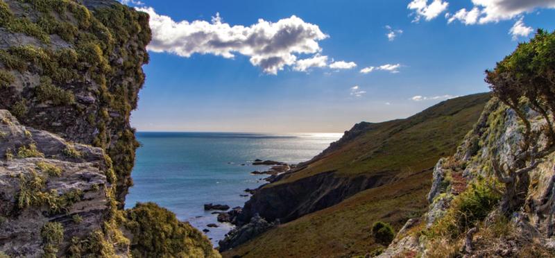 Nature Devon England H2 Coast Sea