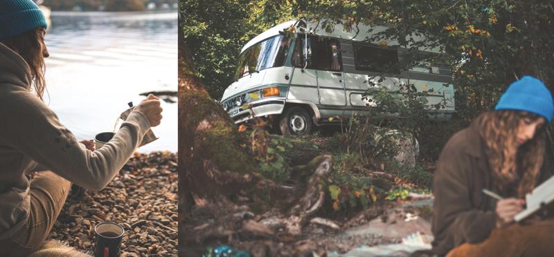 goboony campervan motorhome camping devon h2 england