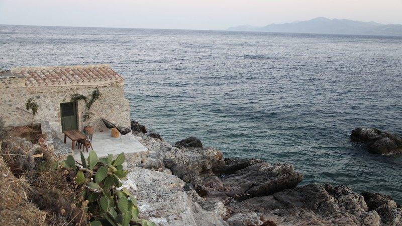 Goboony met de camper naar Griekenland Monemvasia