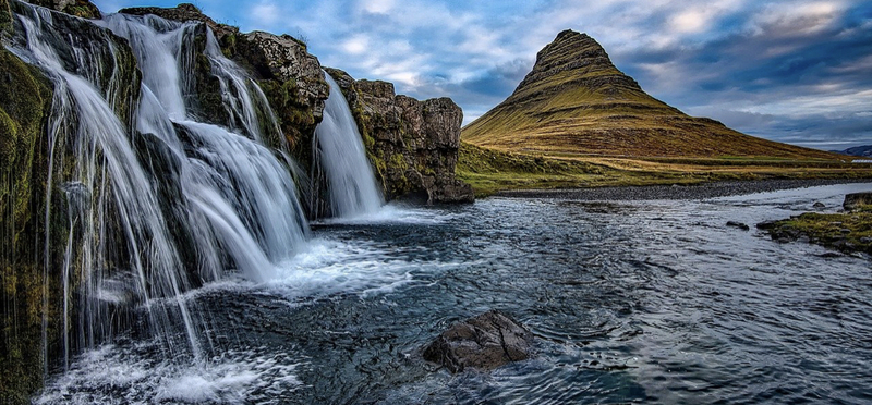 Goboony Iceland Road Trip Route H2 Waterfall
