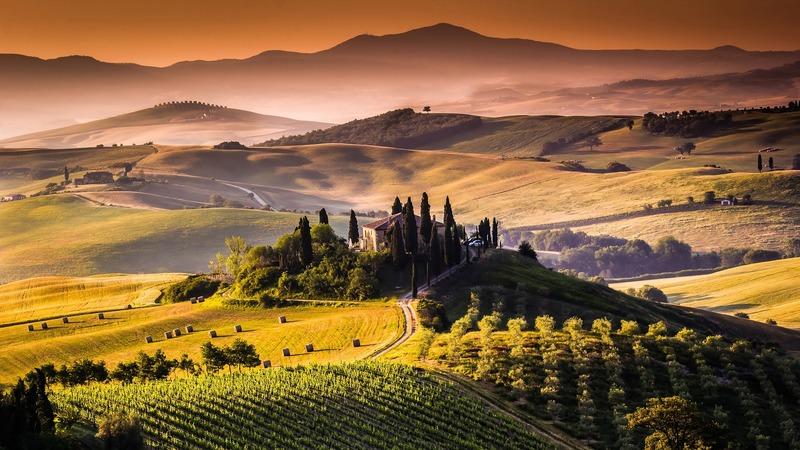 Op vakantie met de camper in Italië Toscane