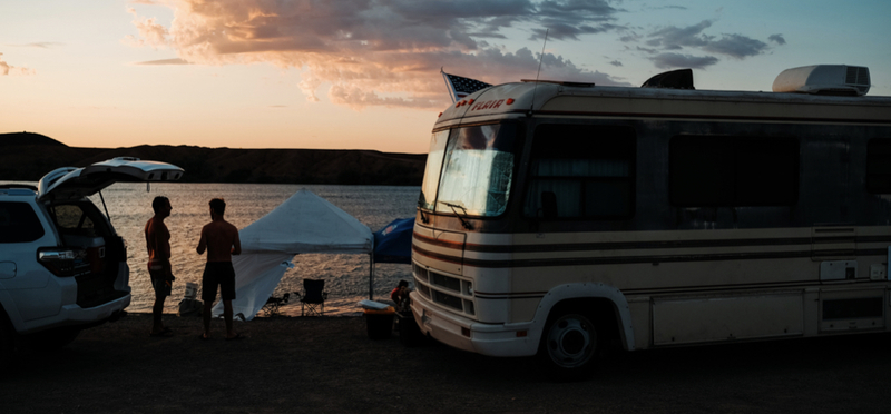Goboony motorhome campervan h2 dorset camping