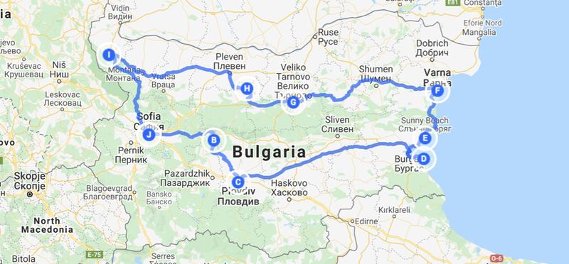 Goboony roadtrip door Bulgarije