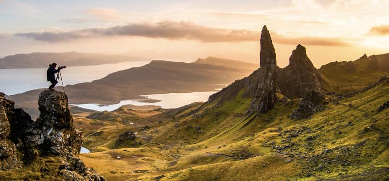Goboony isle of skye scotland h2 camping campsites motorhome