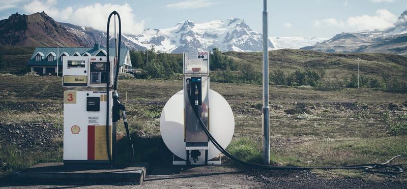 Goboony diesel in de watertank