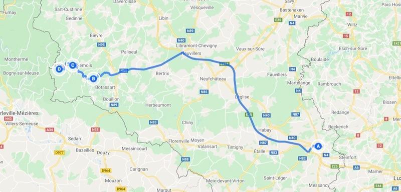 Goboony roadtrip Belgische Ardennen