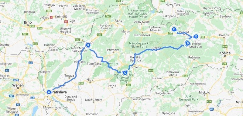 Goboony met de camper naar Slowakije