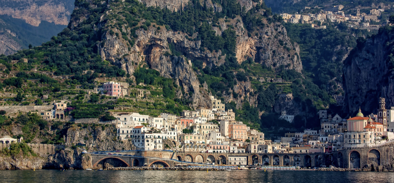 Goboony Amalfi coast road trip campervan motorhome h2 italy