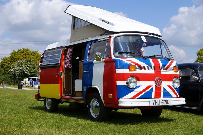 mit dem VW bus durch Europa