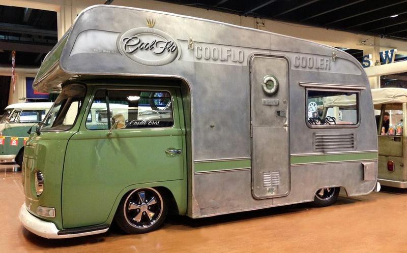 Cooler VW Bus zum reisen