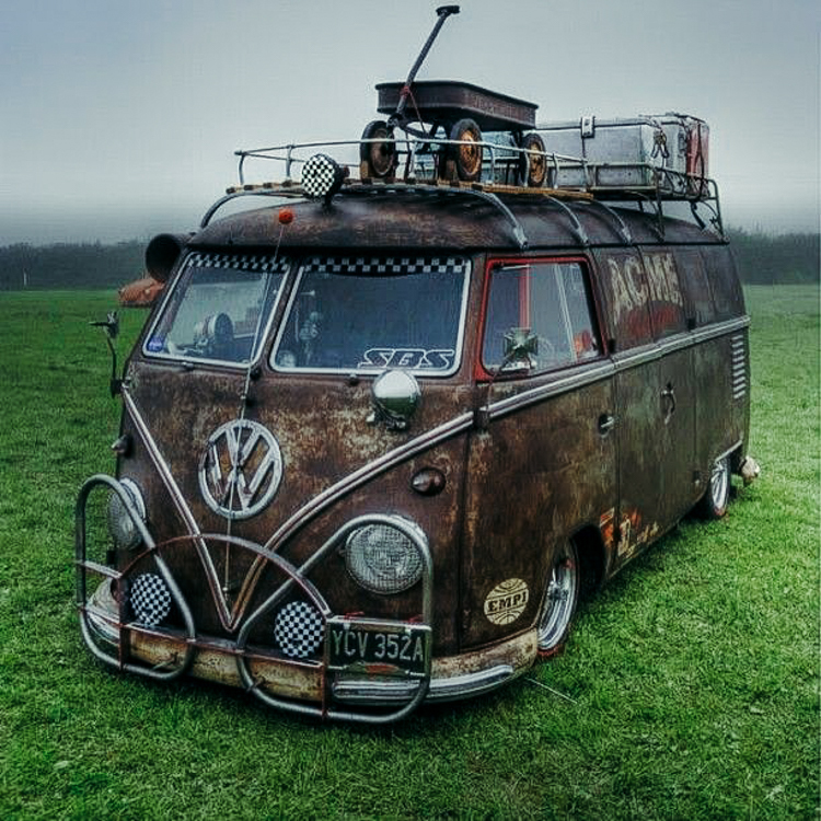 verrosteter traum vom VW bus