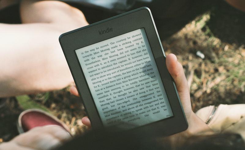 mit dem e-reader im campingurlaub