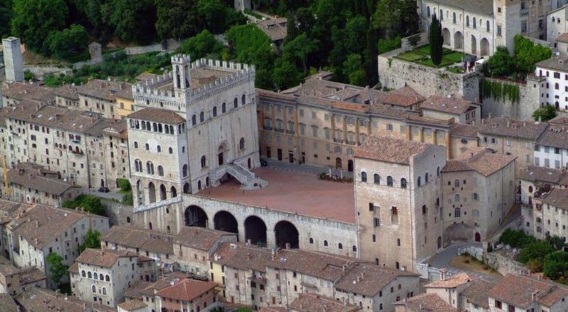 Gubbio Italia palazzo dei consoli