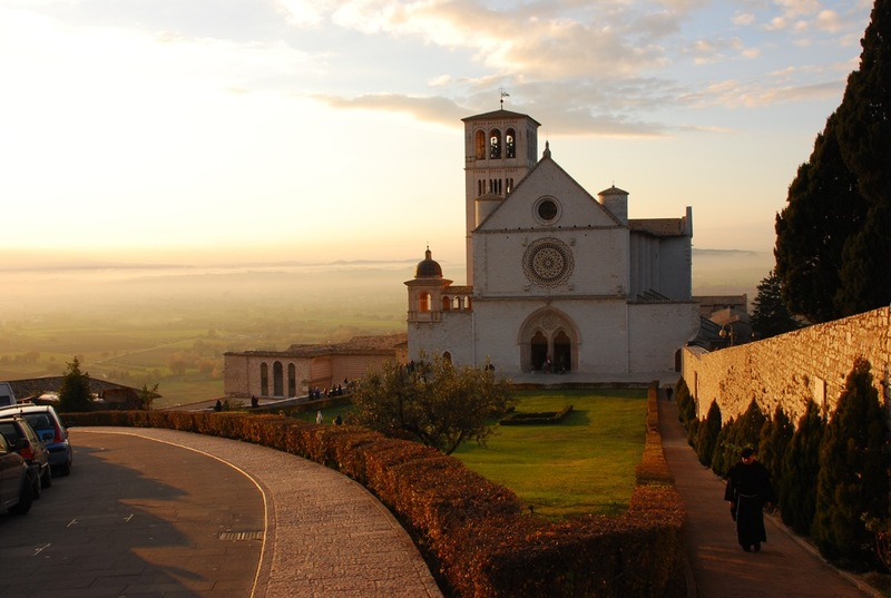 Assisi Italia basilica