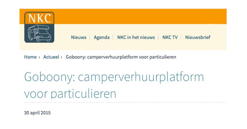 Goboony in de pers - NKC nieuws