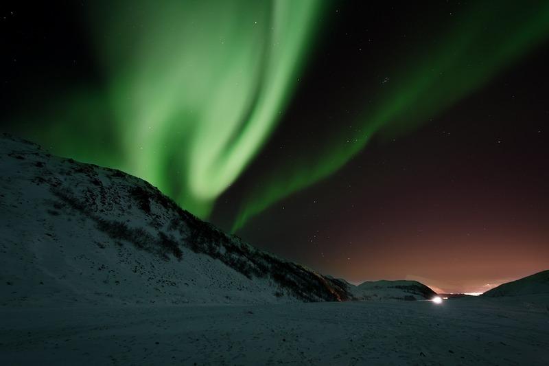Norvegia l'aurora boreale
