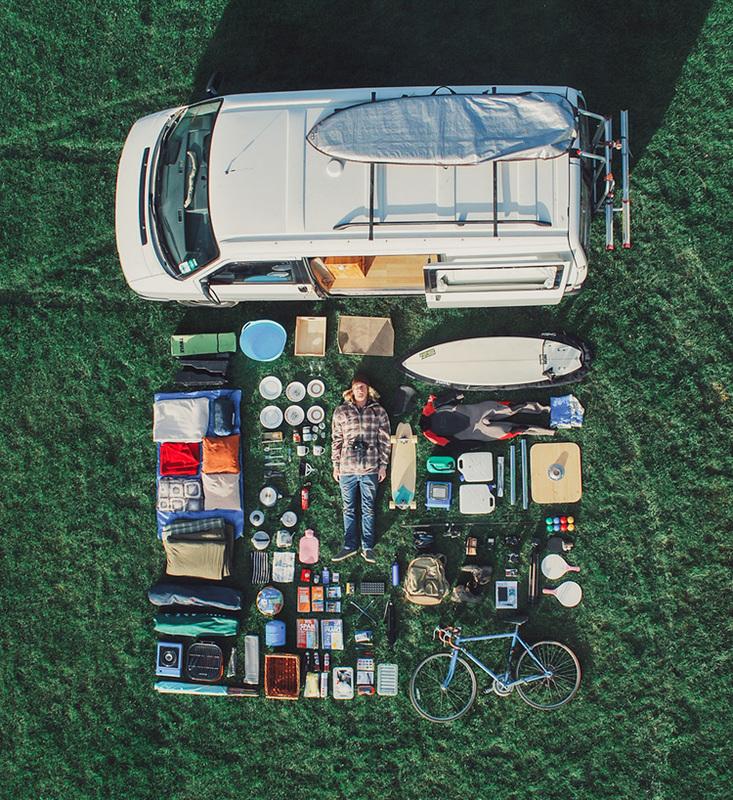 Inventaris van de camper