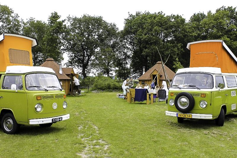 Goboony vrijgezellen meidenweekend Volkswagen camperbusjes