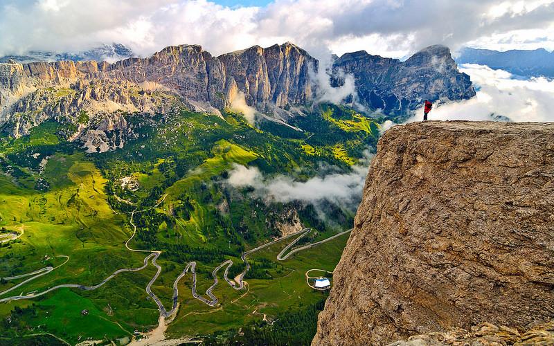 Sellapas Italië met de camper op vakantie