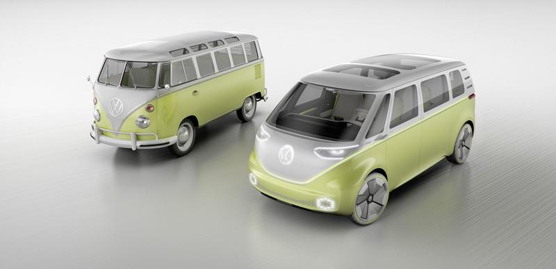 Goboony blog volkswagen id buzz t1 retro design