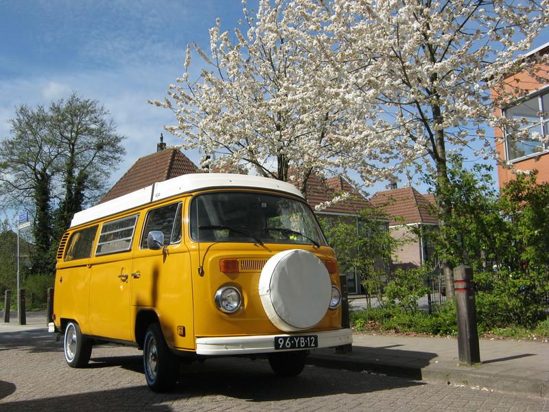 Goboony blog volkswagen t2 camper busje geel