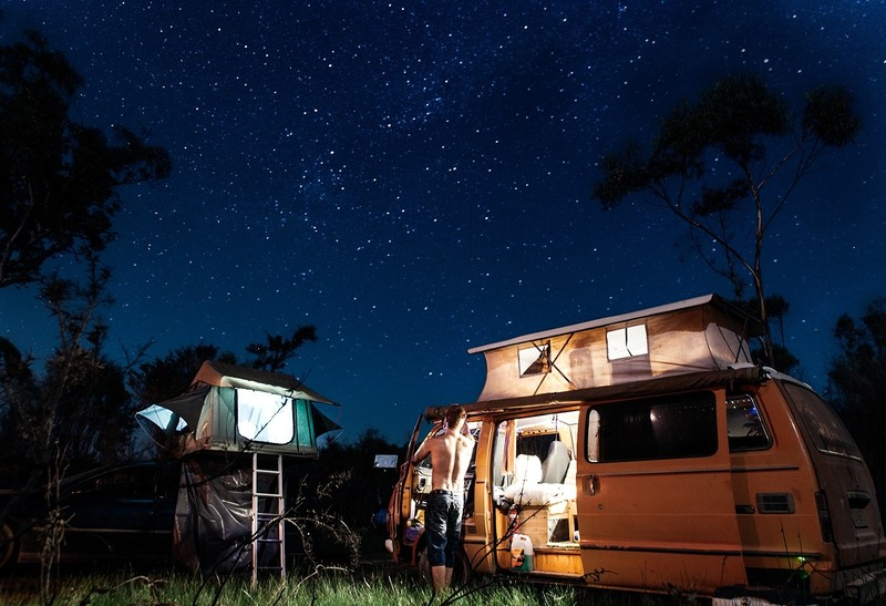 Blog Goboony verschil camperplaatsen campings avond volkswagen