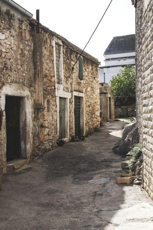 Kroatisch straatje
