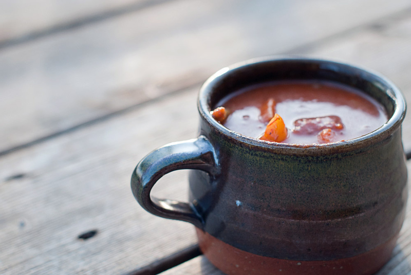 Goboony tips winter camper mug stew