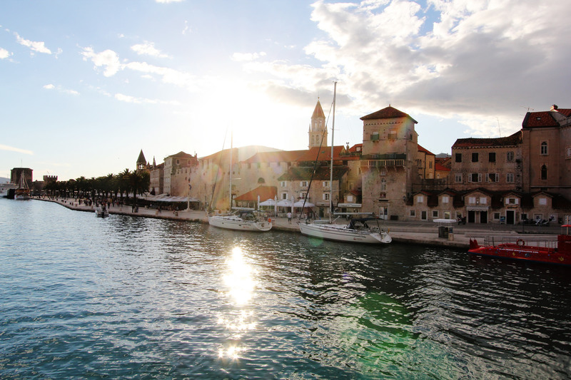 Goboony-Blogs-Croatia-Trogir-yachts-sunrise-adriatic
