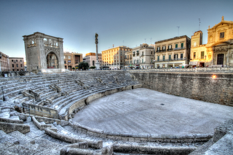 Goboony Southern Italy Sicily ampitheatre scenic sunset