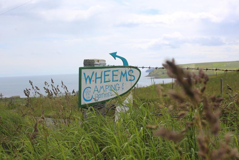 Goboony blog Orkney eilanden Wheems bordje groen