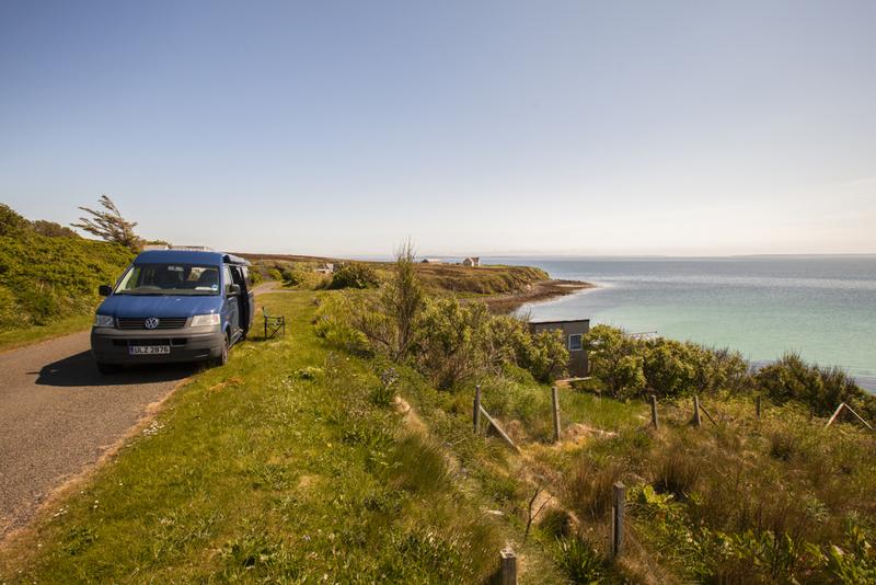 Goboony blog Orkney eilanden Wheems volkswagen zee